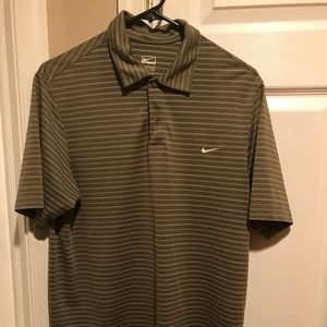 Men's small dry fit Nike golf shirt